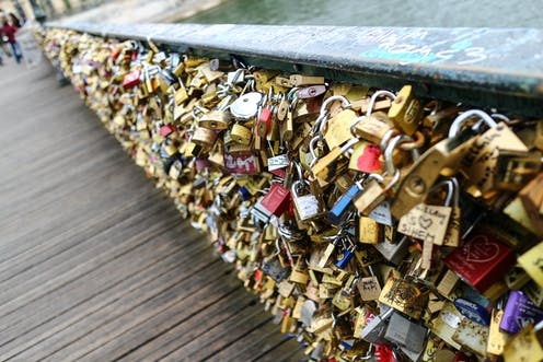 The Lock Of Love How Leaving Padlocks Became A Modern Day Romantic