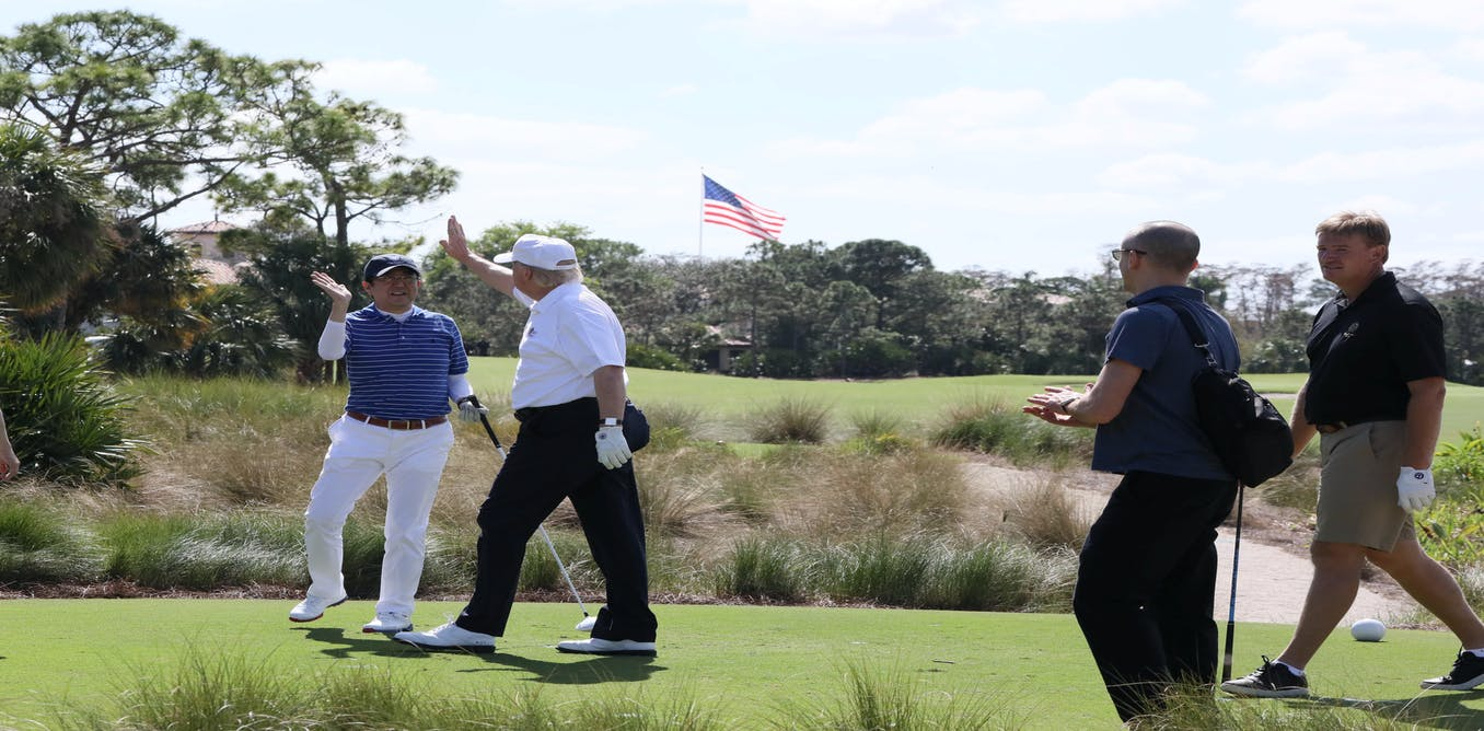 Has Abe got Trump's measure? Golf diplomacy puts Japan back on the green