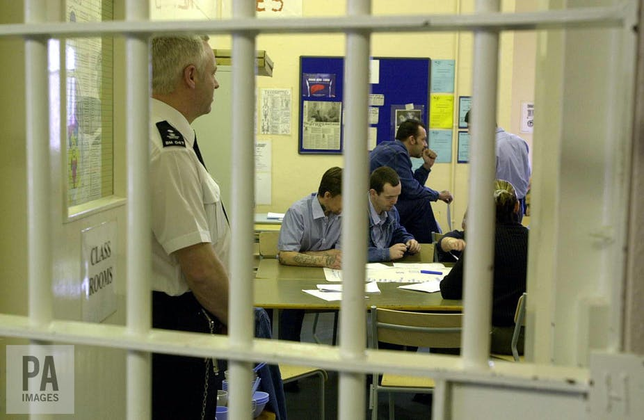 Learning Behind Bars >> Education Behind Bars Why University Students Are Learning