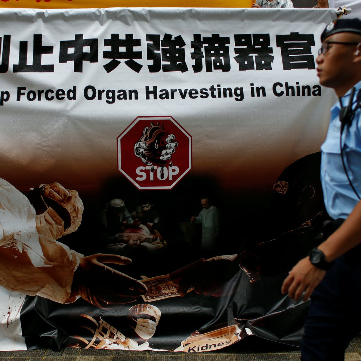 China says it has stopped harvesting organs, but evidence