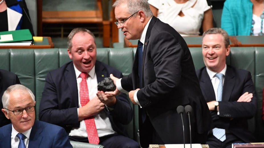 Image result for morrison coal in hand