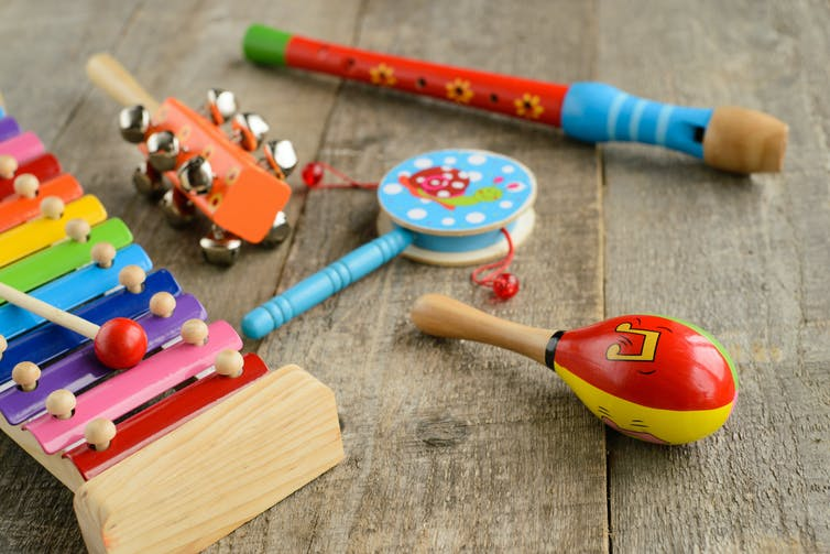 Musical Toys For Toddlers : How music benefits children