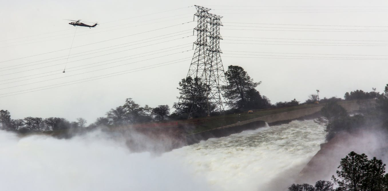 Thumbnail for Oroville dam danger shows how Trump could win big on infrastructure