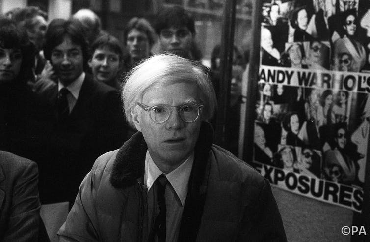 23a15468b0 Warhol in 1980. PA PA Archive
