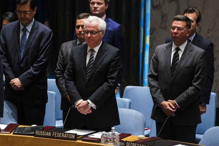 Russia's UN Ambassador Vitaly Churkin Dies Suddenly in NY