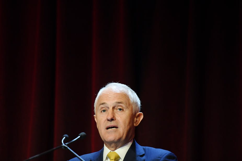 Malcolm Turnbull has continued his attack on the energy situation in South Australia, with its high reliance on renewables. Dean Lewins/AAP