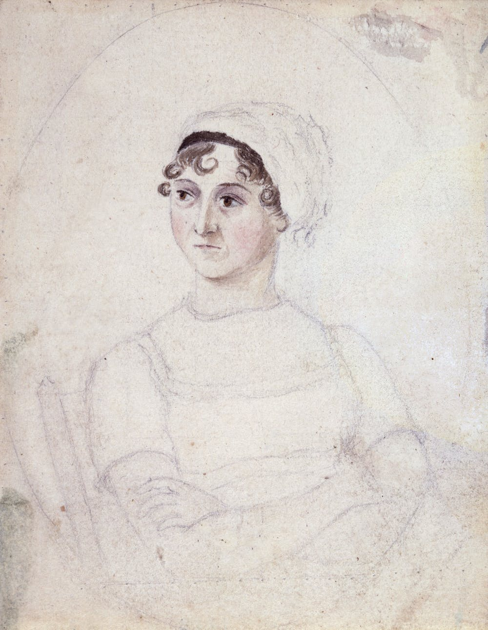 friday essay the revolutionary vision of jane austen cassandra austen s portrait of her sister jane circa 1810 commons