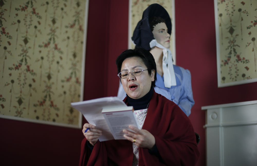 friday essay the revolutionary vision of jane austen linguist dan li dunford reads a mandarin translation from jane austen s novel pride and prejudice during a 12 hour live readathon at the jane austen centre