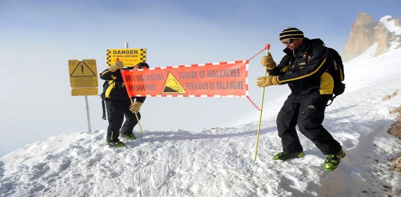 Moins de neige ne veut pas dire moins d'avalanches