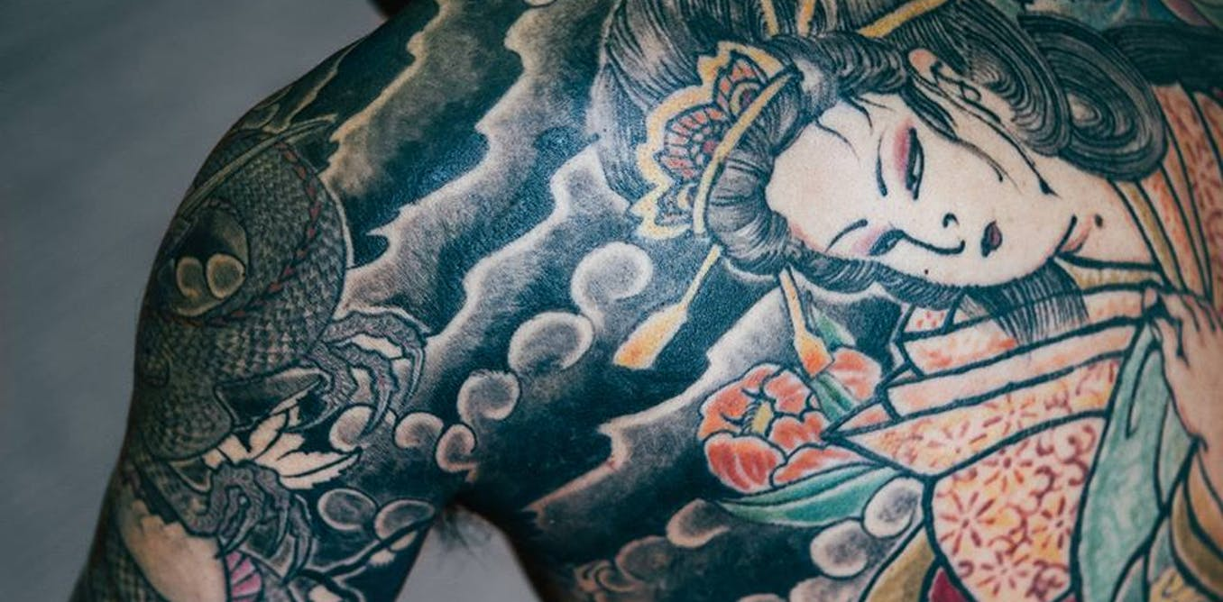 Ink stigma the japanese tattoo artists fighting back for Traditional japanese tattoo rules