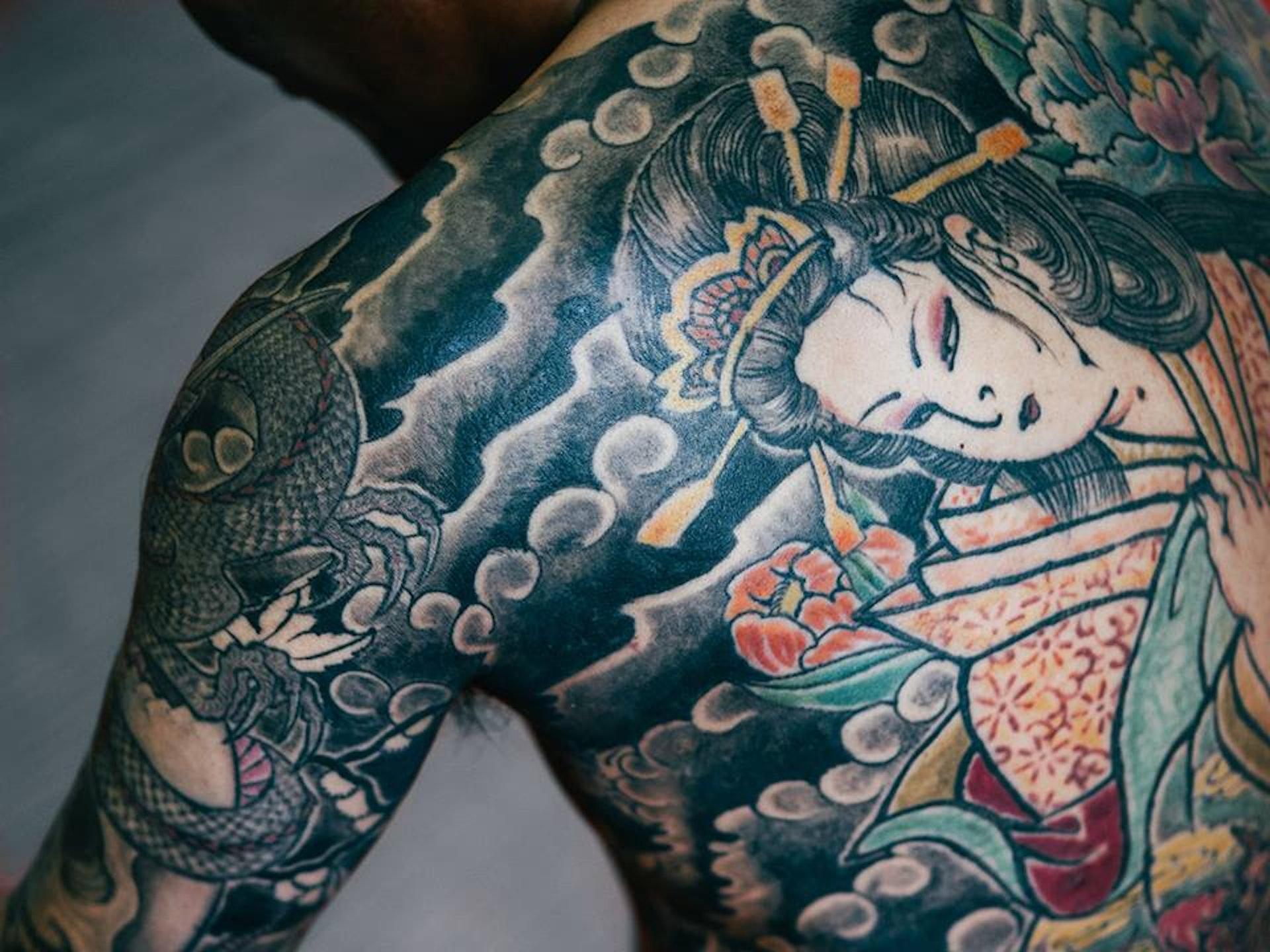 Ink Stigma The Japanese Tattoo Artists Fighting Back