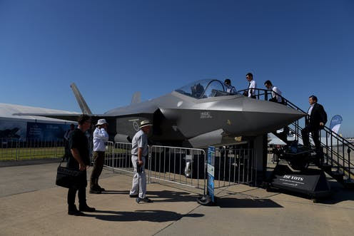 Australia gets its first public display of the new F-35 Joint ...