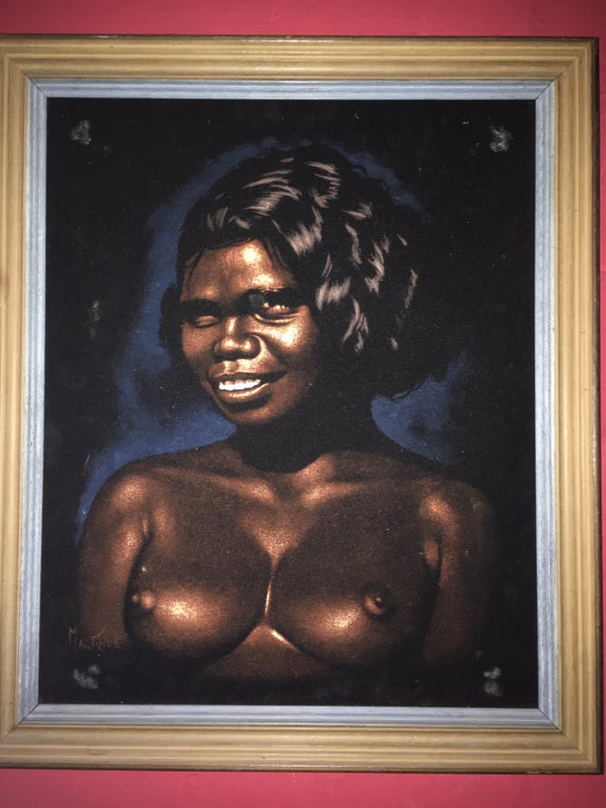 friday essay the politics of aboriginal kitsch portrait of an aboriginal girl author provided