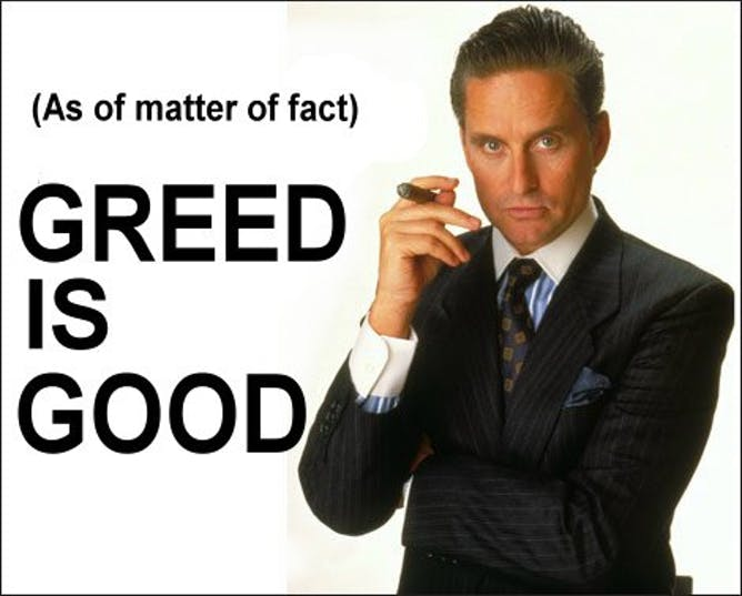 greed is not good essay Check out our top free essays on definition of greed to help you write your own essay free essays on definition of greed greed is not good since an.