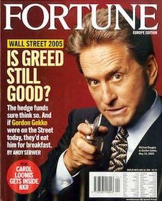 Fortune en 2005: Gekko dépassé par les hedge funds