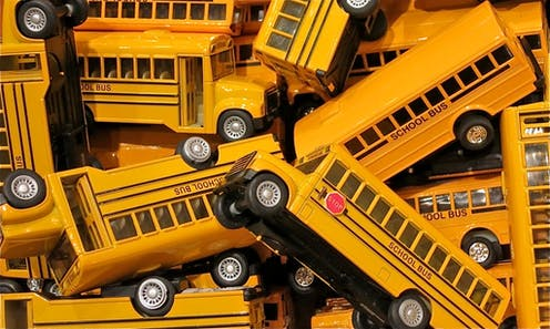 School bus routes are expensive and hard to plan  We calculated a