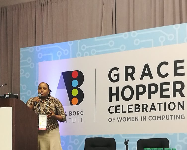 women computer scientists Africa Grace Hopper Chao Charity Mbogo