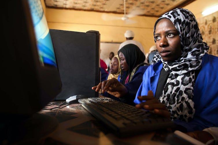 women computer scientists Africa