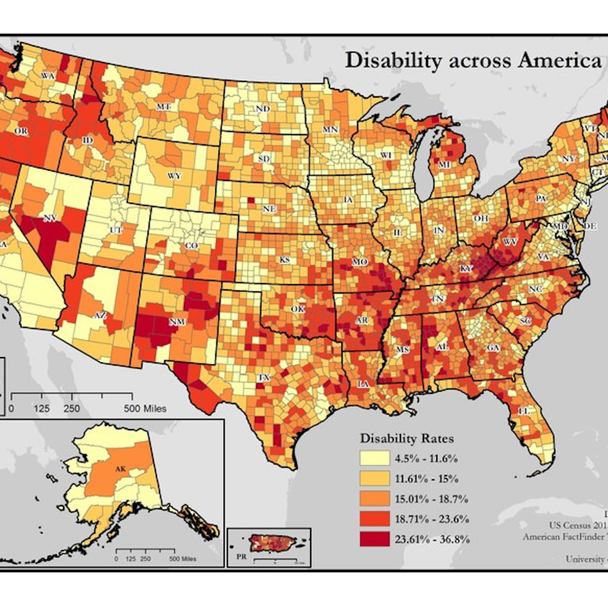 Six charts that illustrate the divide between rural and ...