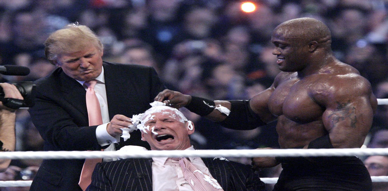 will trump continue to pull from a pro wrestling playbook