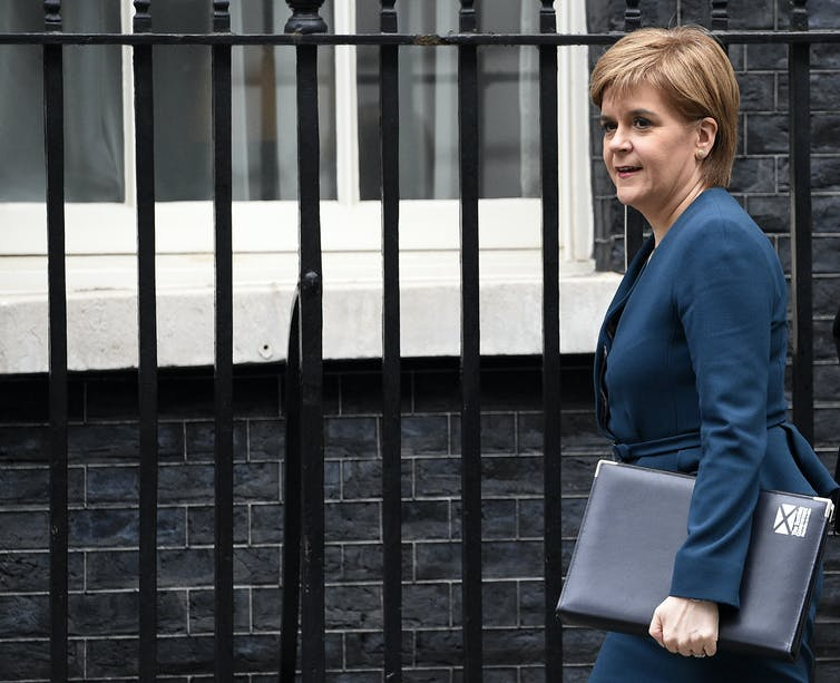 Nicola Sturgeon calls for second Scottish independence referendum
