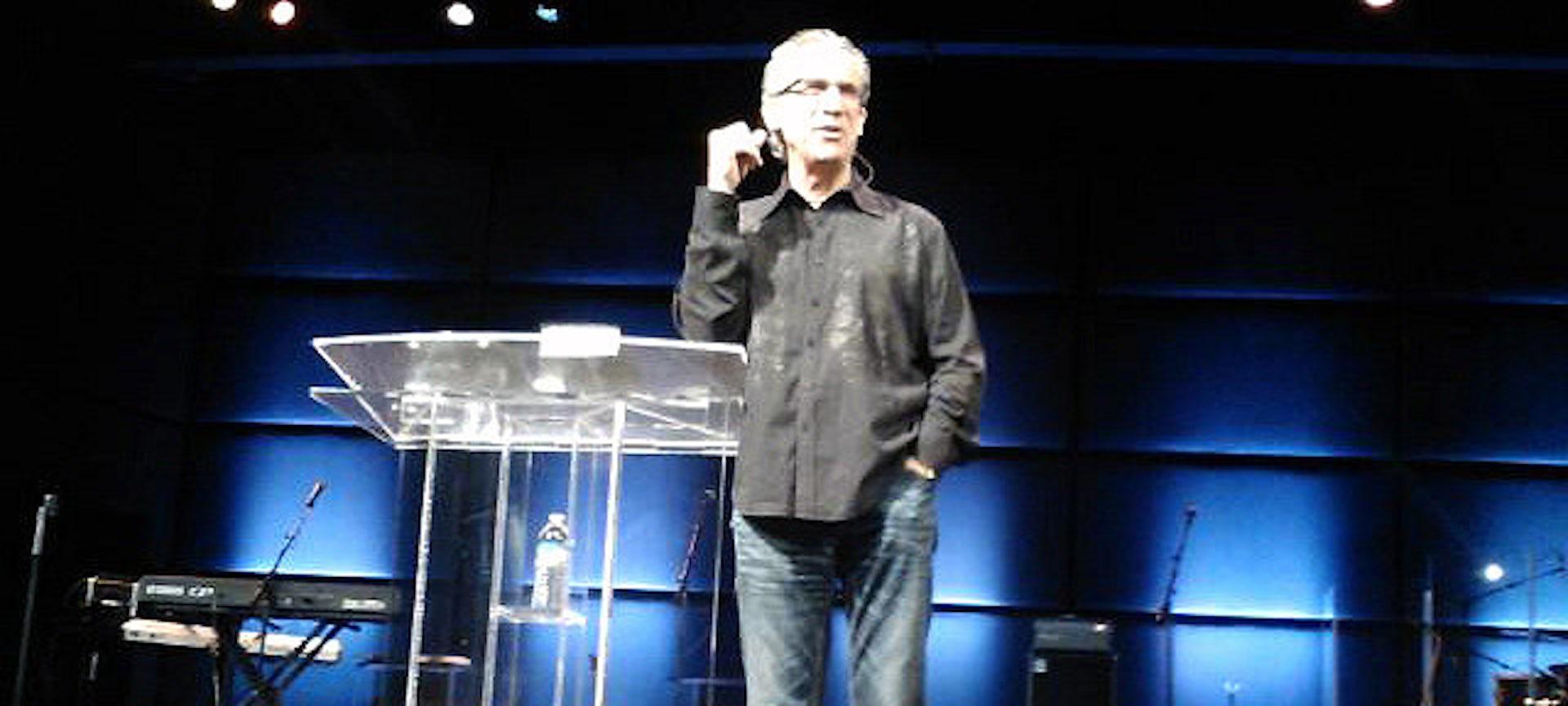 Bill Johnson, pastor of Bethel Church in Redding, California.  Kevin Shorter, CC BY