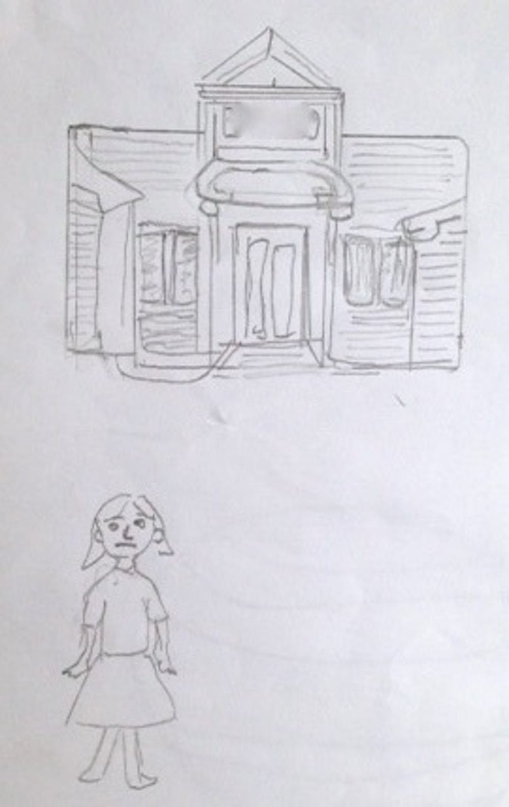 Drawings reveal the struggles and triumphs of child refugees