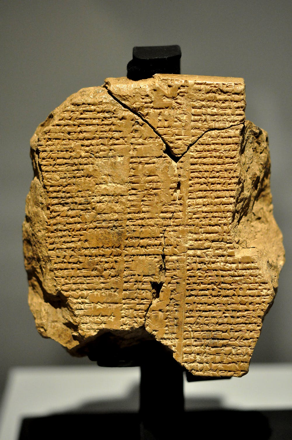 Yellow Wallpaper Essays Tablet V Of The Epic Of Gilgamesh Osama Shukir Muhammed Amin Wikimedia  Commons Sample Proposal Essay also What Is A Thesis Statement For An Essay Guide To The Classics The Epic Of Gilgamesh The Yellow Wallpaper Essay Topics