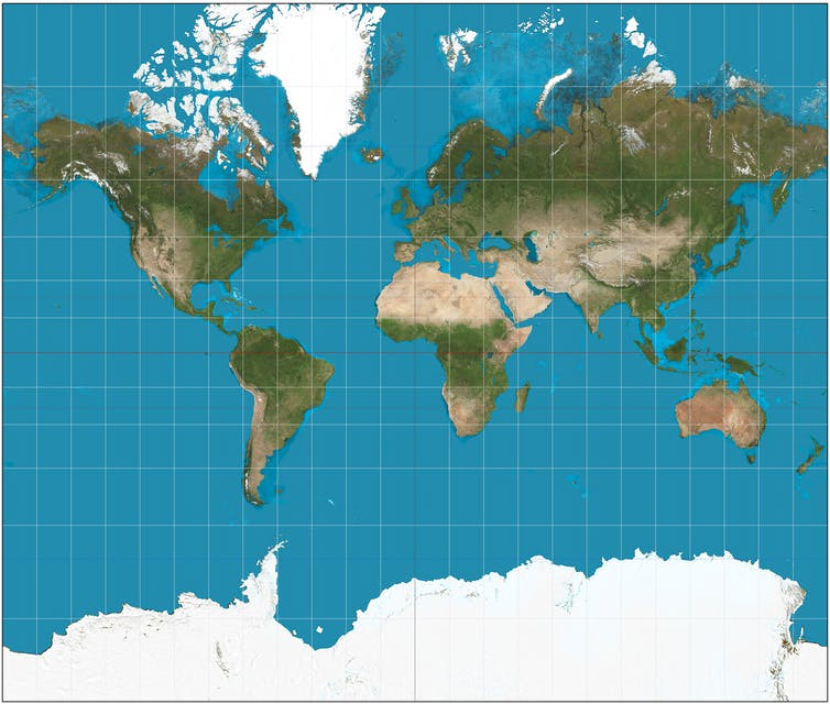 Five maps that will change how you see the world
