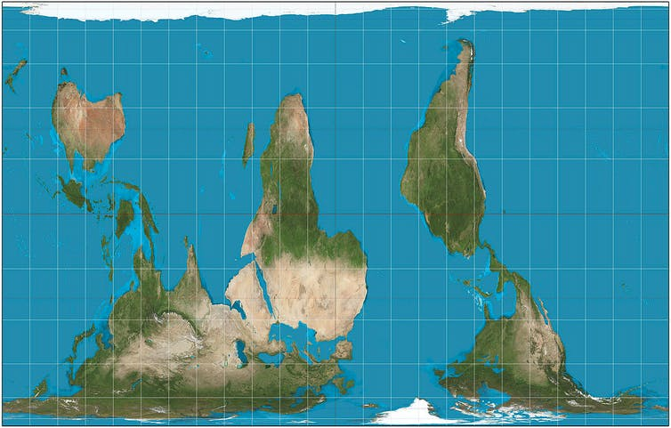 Five maps that will change how you see the world south up gumiabroncs Image collections