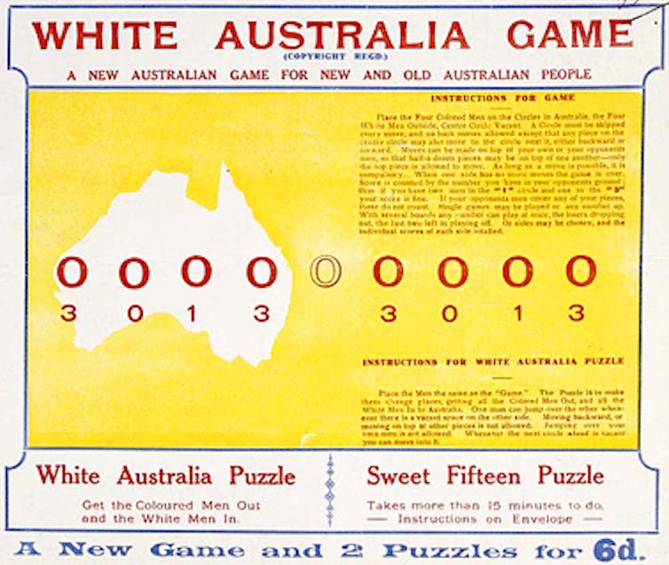 Italian Renaissance Essay The White Australia Game Was Registered In  And Was Popular Throughout  The S Migration Heritage Centre Informative Essay Topics College also Mother Teresa Hindi Essay Australian Politics Explainer The White Australia Policy Travels With Charley Essay