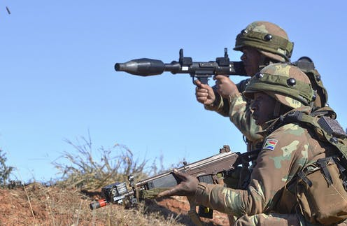 Image result for south African military