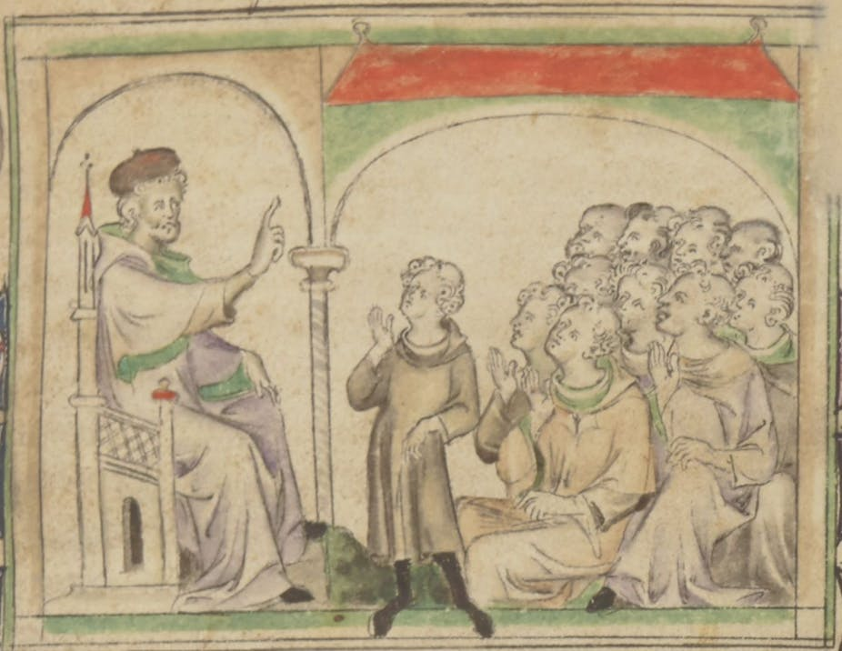 14th century england society