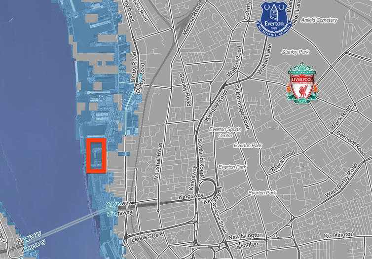 New Everton Football Stadium Could End Up Underwater