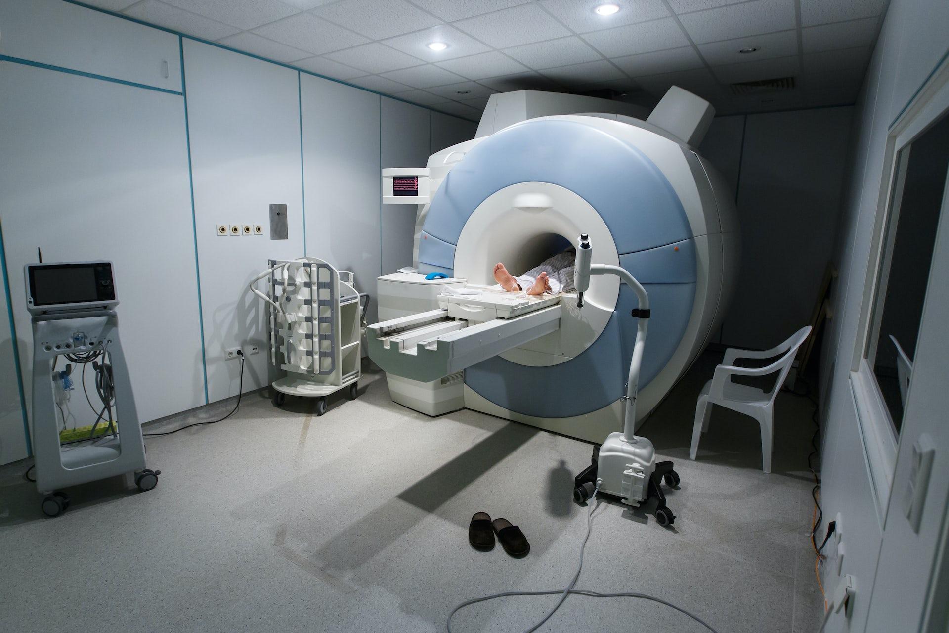 Image result for MR scanner sleep