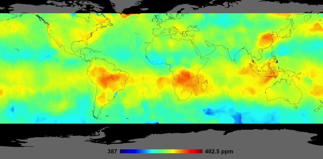 Watching the planet breathe: Studying Earth's carbon cycle from space