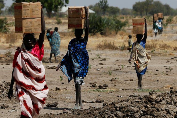 South Sudan international donors