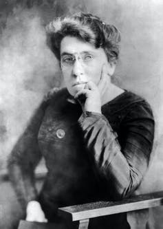 Anarchist political activist and writer Emma Goldman. Wikimedia Commons