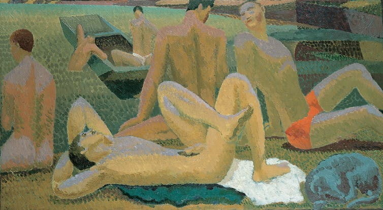Bloomsbury Group, Gay Painting, lgbt, gay, lgbtq