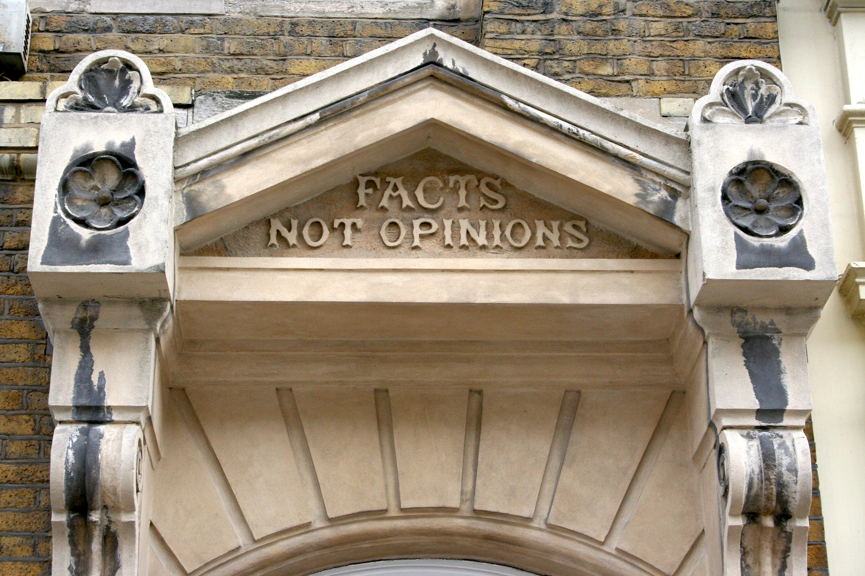 Facts are not always more important than opinions: here's why