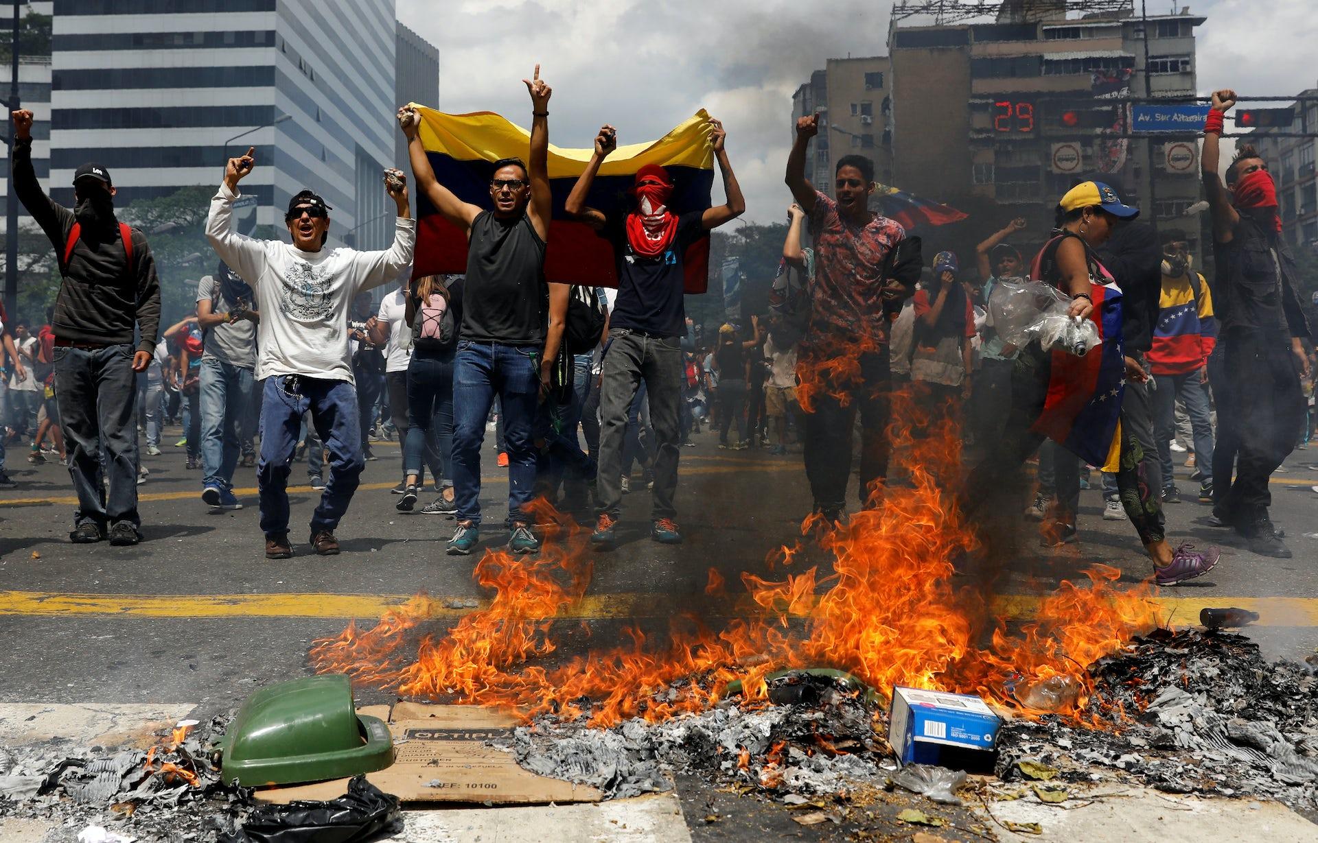 Black Lives Matter >> Venezuela has lost its democratic facade