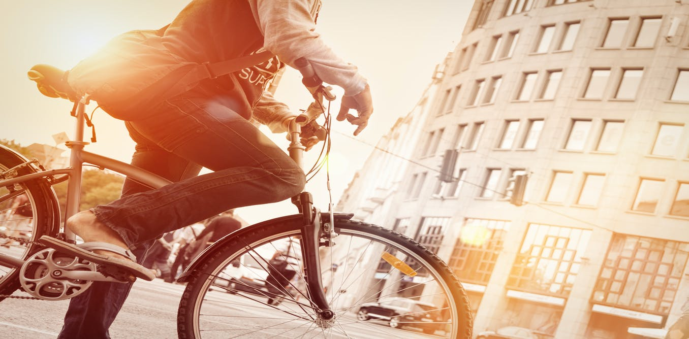 theconversation.com - Carlos Celis-Morales - Cycling to work: major new study suggests health benefits are staggering