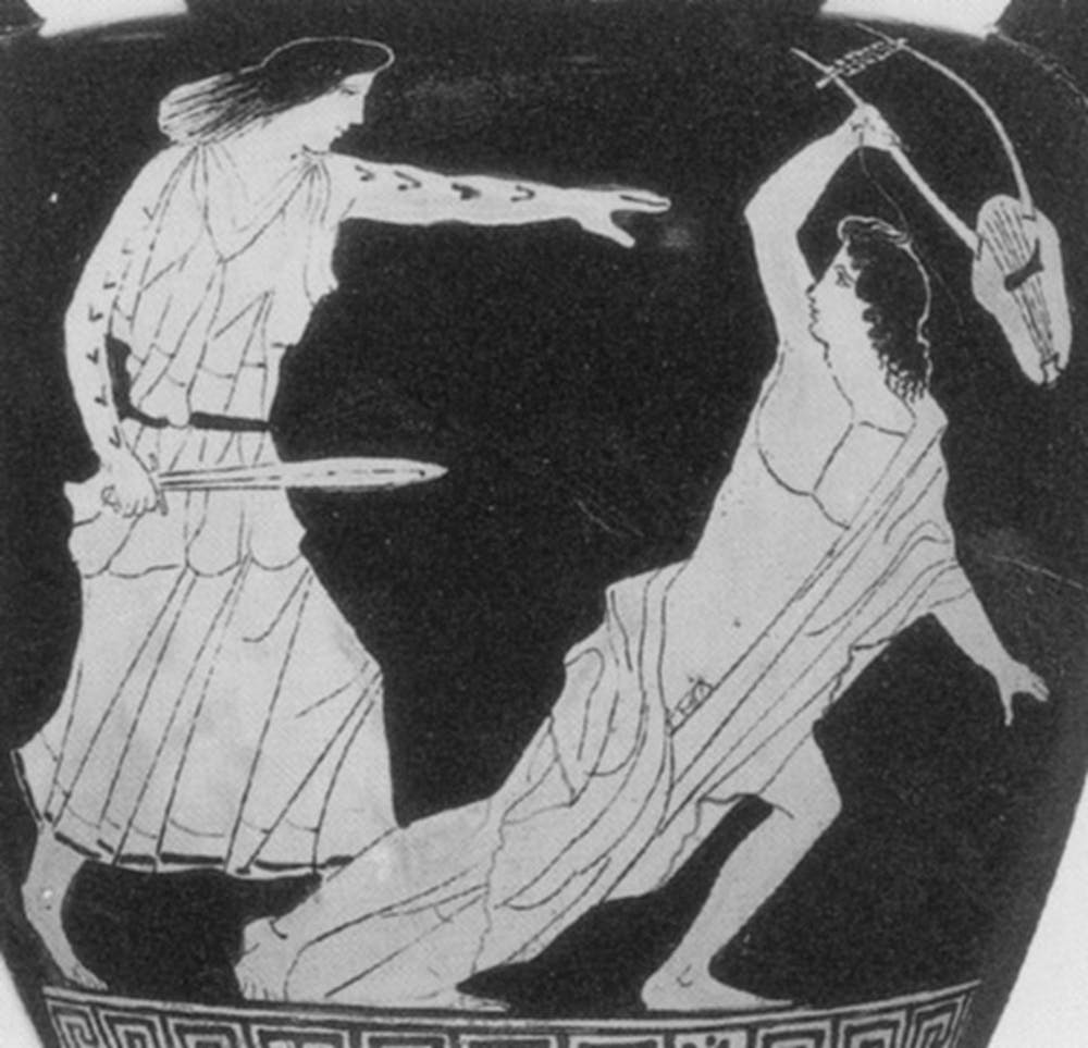 friday essay power perils and rites of passage the history of  thracian w attacking orpheus date classical 475 425 bce dimensions unknown provenance south current collection munich