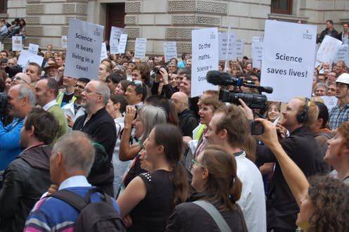 More Evidence That Movement To Defend >> People Are Taking To The Streets To Defend Science But It Could
