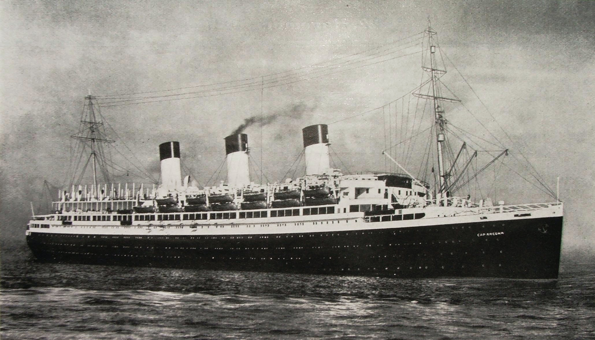 The Cap Arcona in 1927. Wikipedia