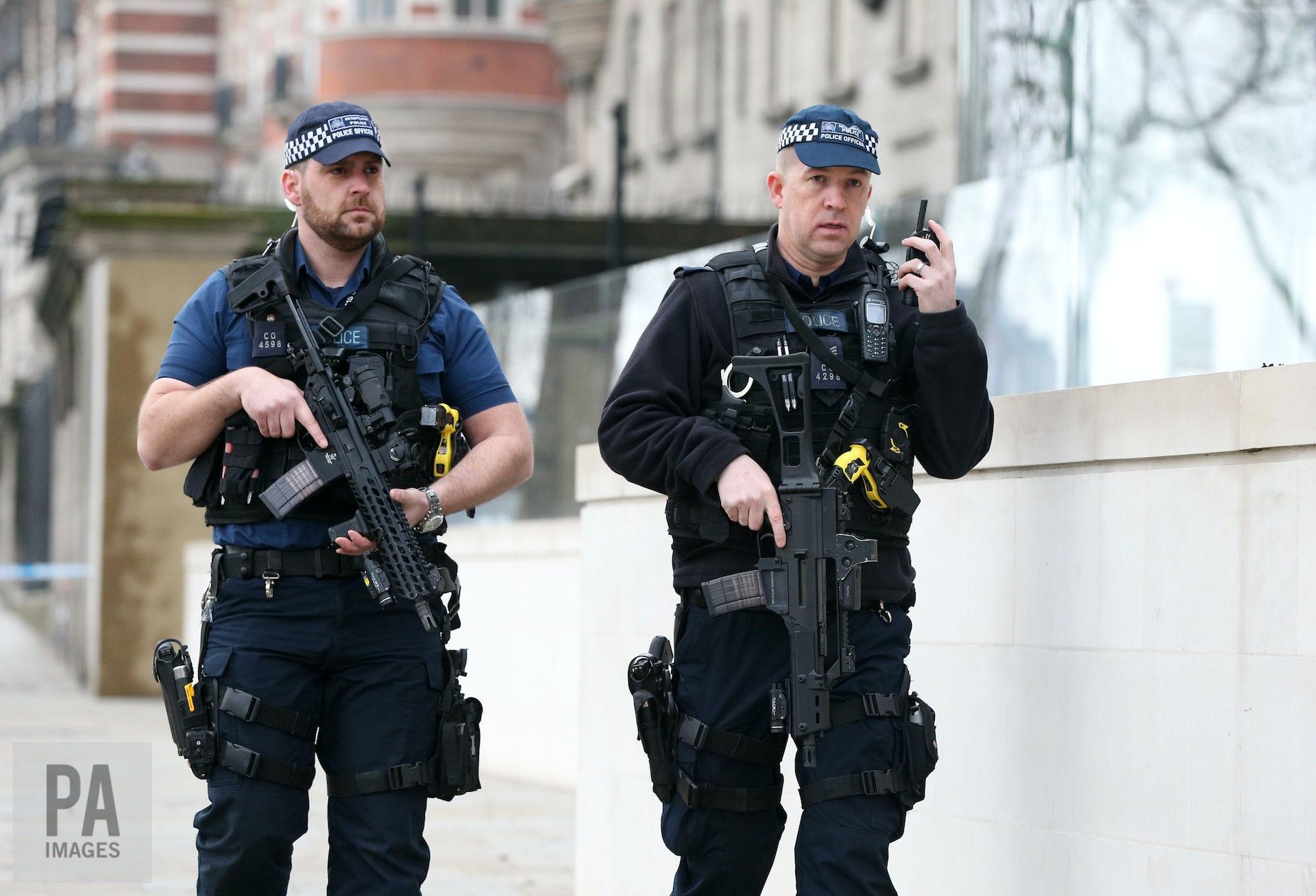 English police officer uniform