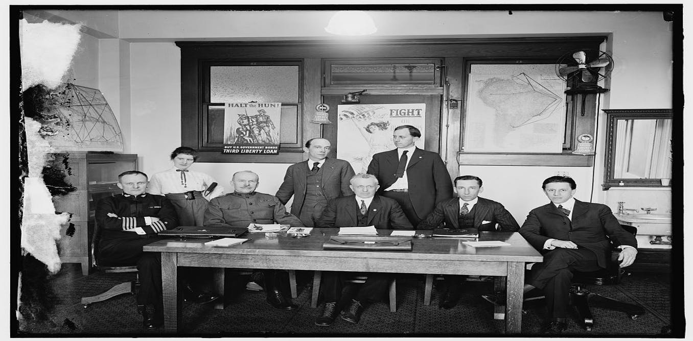 How Woodrow Wilson's propaganda machine changed American ...