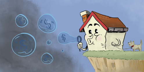 an Australian housing bubble could burst