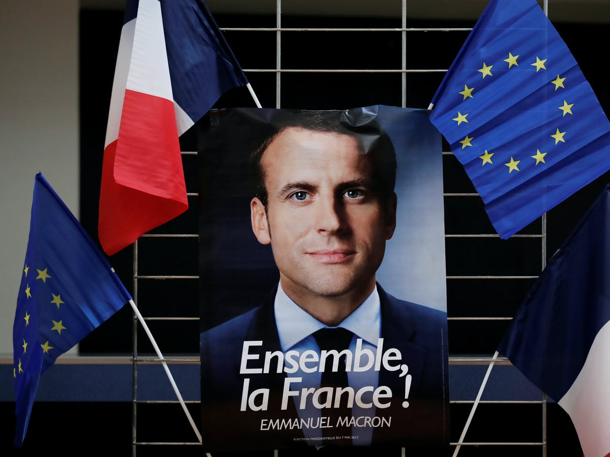 French Election Highlights A Deep Divide On The European Union