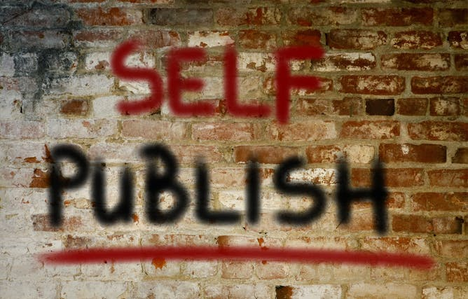 Self Published Authors Are Claiming An Increasing Share Of The Market  Shutterstock